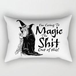 The Magic / When all else fails Rectangular Pillow
