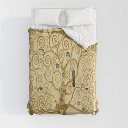 Gustav Klimt - Tree of Life Duvet Cover