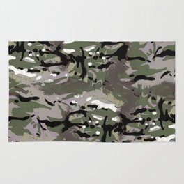 Camo Camo, and the art of disappearing. Rug