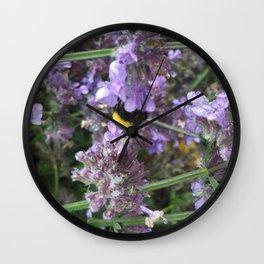 Pollinators  Wall Clock