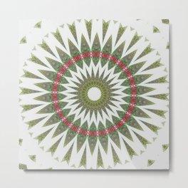 New Color Pyramidal Mandala 35 Metal Print