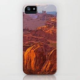Arizona Monument Valley iPhone Case