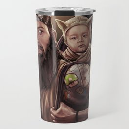 Father and Son Swamp Training Travel Mug