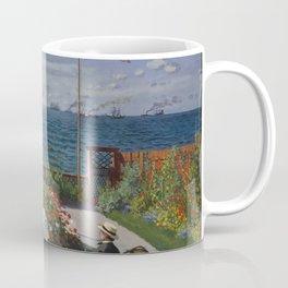 Claude Monet - Garden at Sainte-Adresse (1867) Coffee Mug