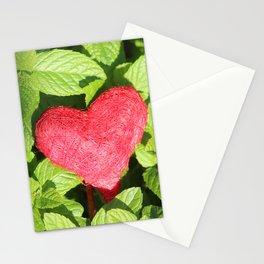 I like the freshness of mint Stationery Cards