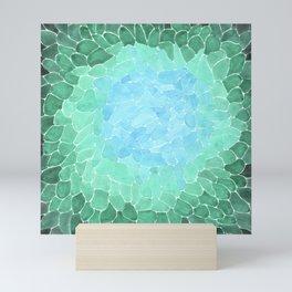 Watercolor Sea Glass Art Mini Art Print