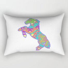 love horse Rectangular Pillow