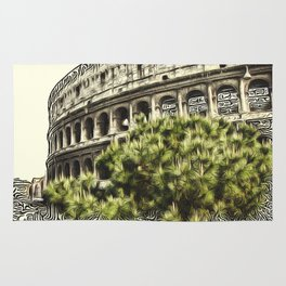 Patterns of Places - Colosseum Rug