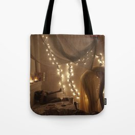 my bedroom is filled with love Tote Bag
