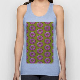 Sprinkled Donuts: Donuts series Unisex Tank Top