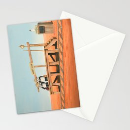 Outback Train Station Stationery Cards
