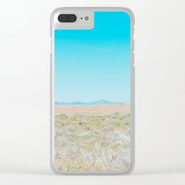 Cloudless Clear iPhone Case