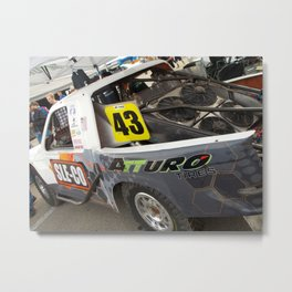Ready for Action Metal Print