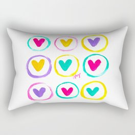 We Are Made of Colours Rectangular Pillow