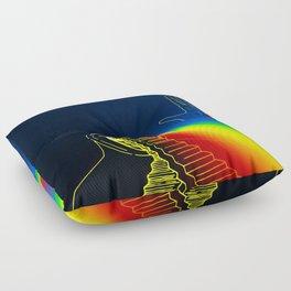 The Left Hand of Darkness (Sanslucence)  Floor Pillow