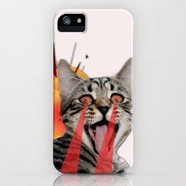 CAT ATTACK! iPhone Case