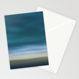 Dreamscape #7 blue-green Stationery Cards
