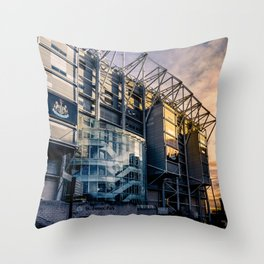 Home of the Magpies Throw Pillow