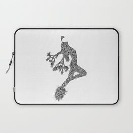 Quail Woman by CREYES of ArtFx Old Town Yucca Valley Laptop Sleeve