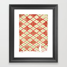 Vintage Wrapping Paper Framed Art Print