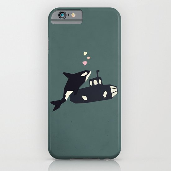 K is for Killer whale iPhone & iPod Case