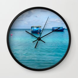 Dhonis Day Off Wall Clock