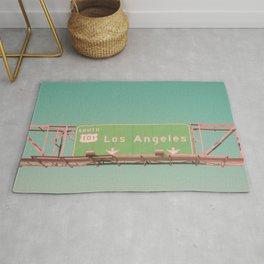Los Angeles Highway Rug