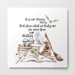 Our Choices Metal Print