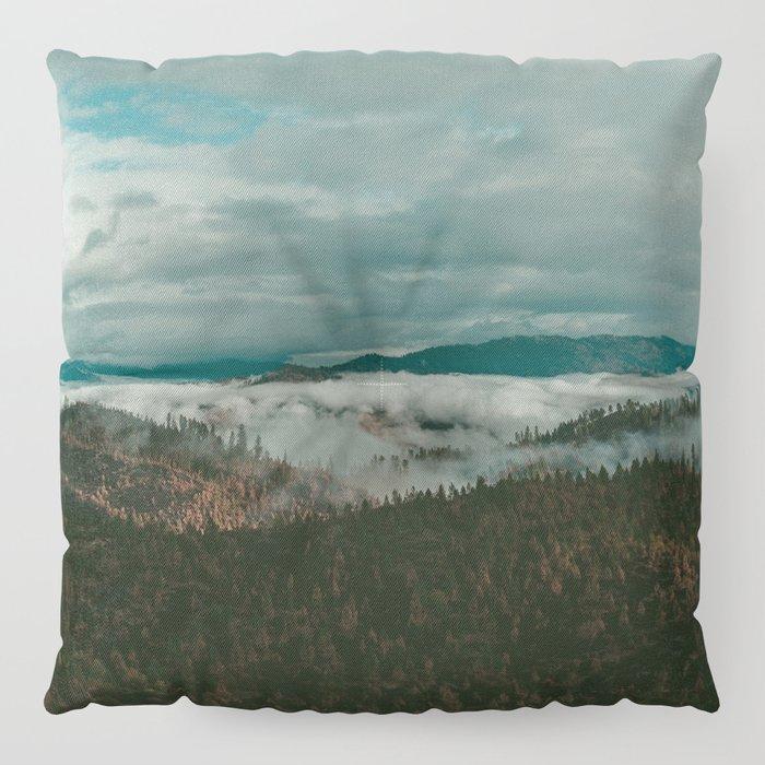 Autumn Wilderness Floor Pillow