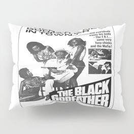 The Black Godfather Pillow Sham
