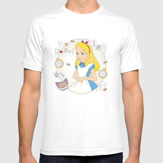 I {❤} Alice In Her Wonderland T-shirt