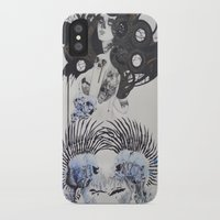 goth iPhone & iPod Cases featuring Goth spirit  by Aggelikh Xiarxh