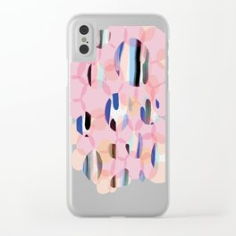 Platelet Clear iPhone Case