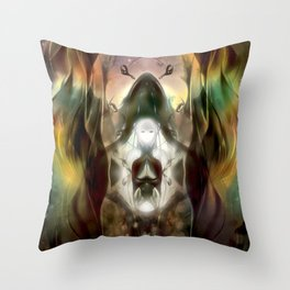 Silent Tranquility  Throw Pillow