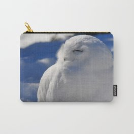 Snowy in the Snow by Teresa Thompson Carry-All Pouch