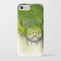 monty python iPhone & iPod Cases featuring Python Art by ChiaraLily