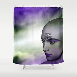 in the shop window -101- Shower Curtain