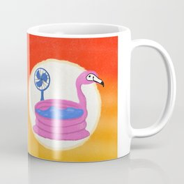 Flamingo Heat Wave Coffee Mug
