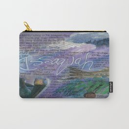 Issaquah Washington...Mixed Media Art by Seattle Artist Mary Klump Carry-All Pouch