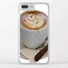 Americano Coffee Vector Clear iPhone Case