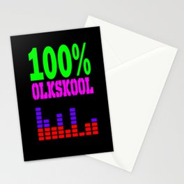100% oldskool Stationery Cards