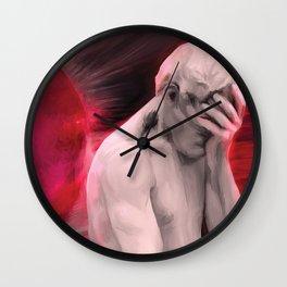 Repentant Man Wall Clock