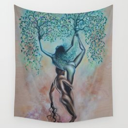 Symbiotic Synapses Wall Tapestry