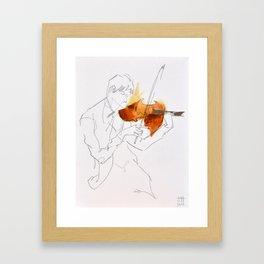 Quartet Series - 1 of 4 Framed Art Print