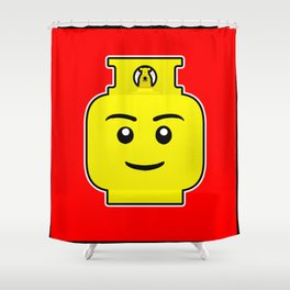 Gas Bottle  Shower Curtain