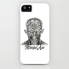 Mindful Ape iPhone Case