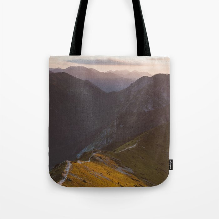 Before sunset - Landscape and Nature Photography Tote Bag