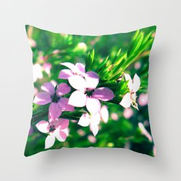 Little Things Throw Pillow
