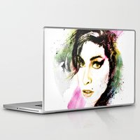 amy hamilton Laptop & iPad Skins featuring AMY by Ryan Huddle House of H