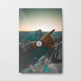 Hang Loose Time Yosemite Metal Print